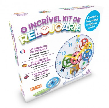 Clock Kit - O Incrível Kit de Relojoaria